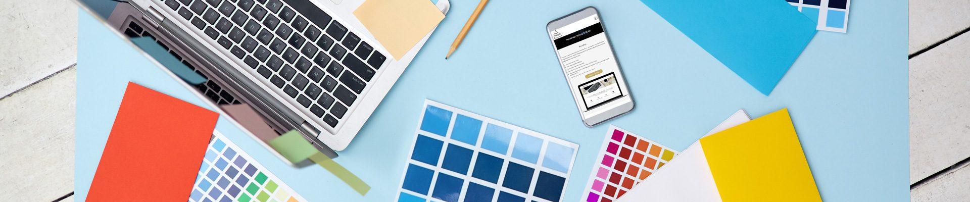 Jak dobrać kolorystykę strony internetowej?