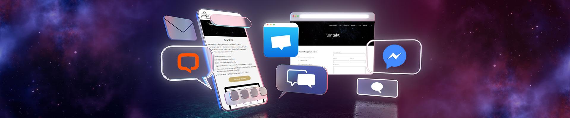 Messenger i czat na stronie – dodatek czy must have?